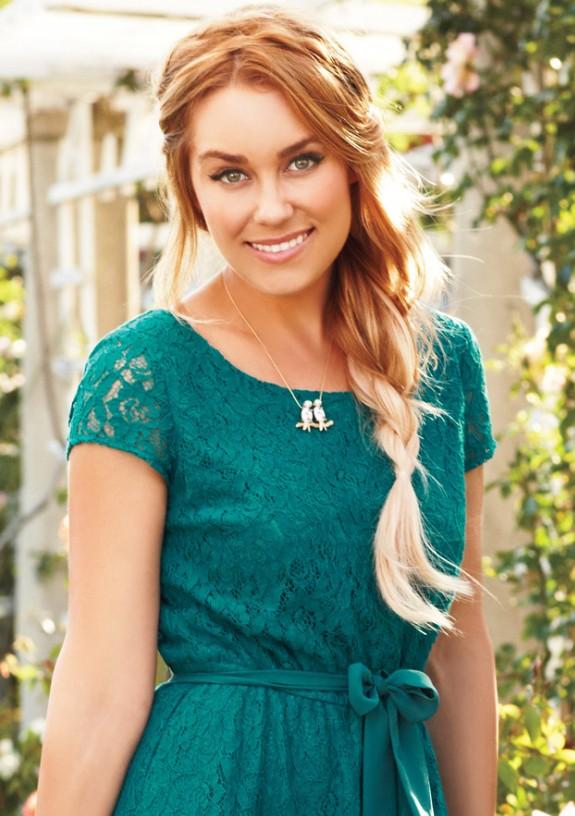 Lauren Conrad Hair style braid