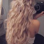 Long Blonde Hair Tumblr