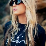 Long Blonde & Tousled with Beautiful Brown Lowlights for Girls Tumblr