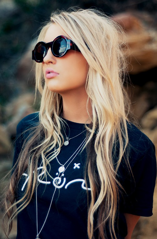 Wondrous Girls Hair Ideas Long Blonde Amp Tousled With Beautiful Brown Hairstyles For Women Draintrainus
