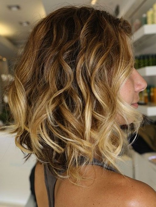 Ombre Hair Short Hair 2014