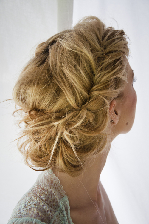 Prom Hairstyles For Long Hair Updo With Retro Twisted Sides