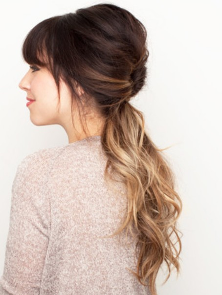 Spring Hairstyles 2014 Loose Ponytail