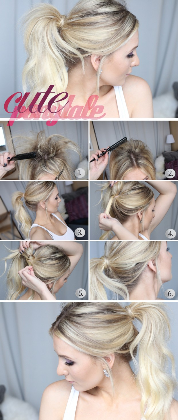 Superb 20 Hair Tutorials You Should Not Miss Cute Amp Easy Hairstyles Short Hairstyles Gunalazisus