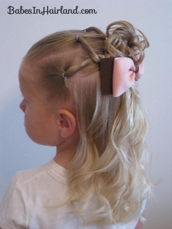 Strange 28 Cute Hairstyles For Little Girls Hairstyles Weekly Hairstyles For Women Draintrainus