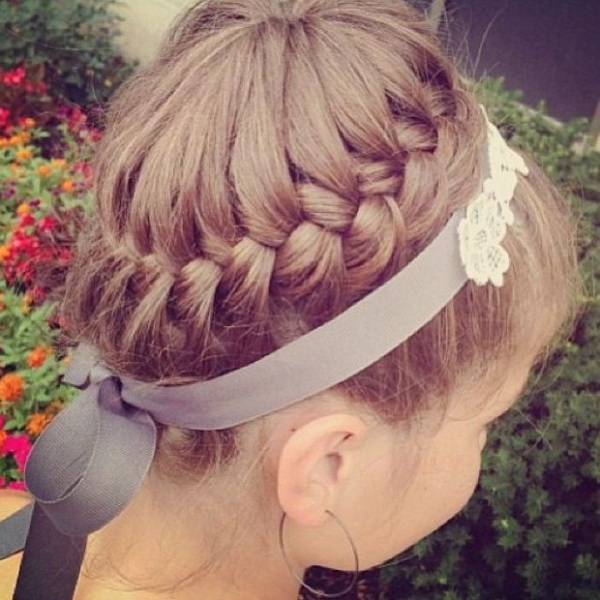 Girls braided updo perfect for summer hairstyles weekly girls braided updo perfect for summer pmusecretfo Gallery
