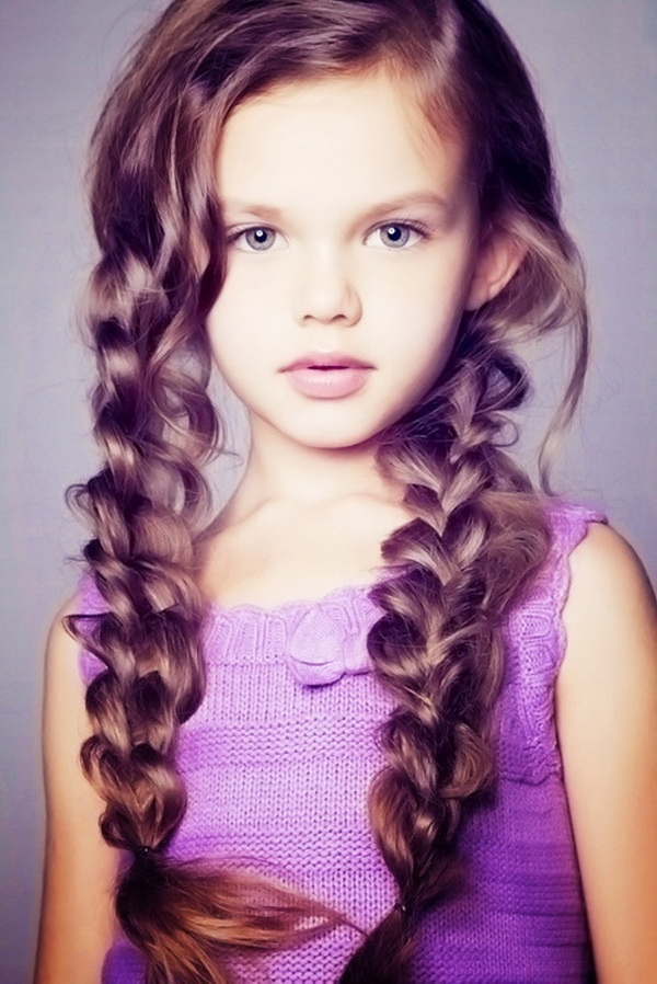 Peachy 28 Cute Hairstyles For Little Girls Hairstyles Weekly Hairstyles For Women Draintrainus