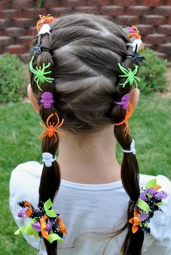 Kids Hairstyles for Summer - Halloween Hairstyles for Girls