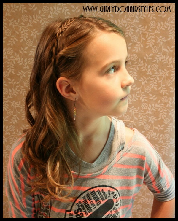 Swell 28 Cute Hairstyles For Little Girls Hairstyles Weekly Short Hairstyles Gunalazisus