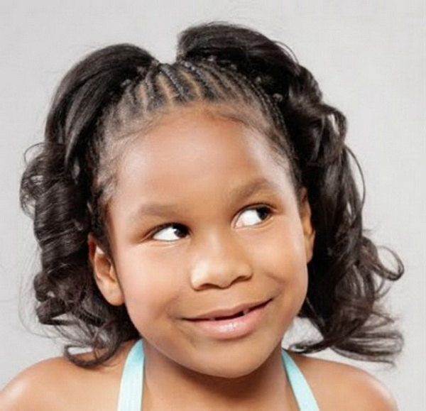 Lil Black Girl Hairstyles For Wedding : Cute hairstyles for little girls weekly