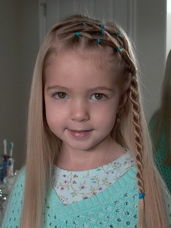 Astounding 28 Cute Hairstyles For Little Girls Hairstyles Weekly Hairstyle Inspiration Daily Dogsangcom