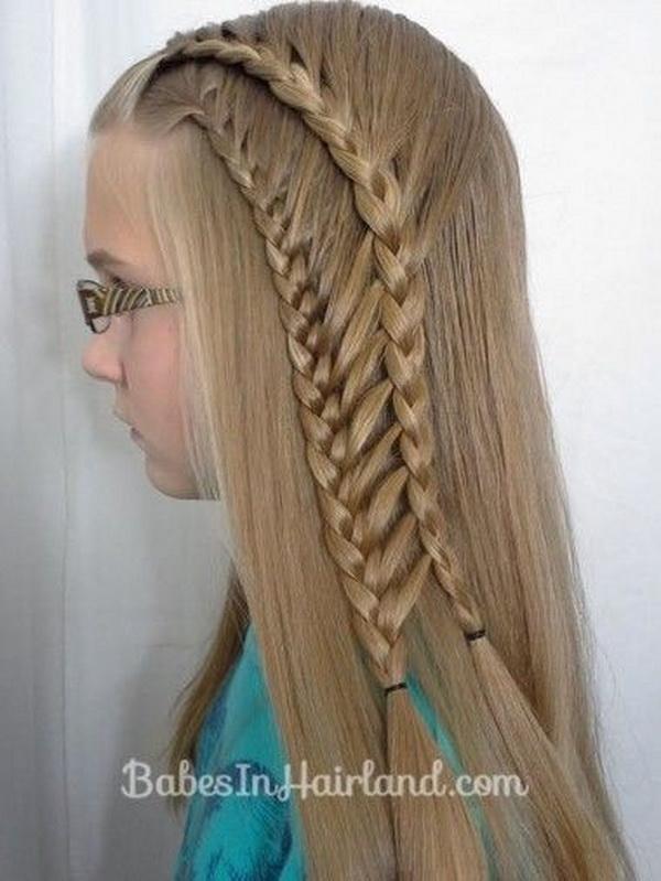 Pleasant 28 Cute Hairstyles For Little Girls Hairstyles Weekly Hairstyles For Men Maxibearus