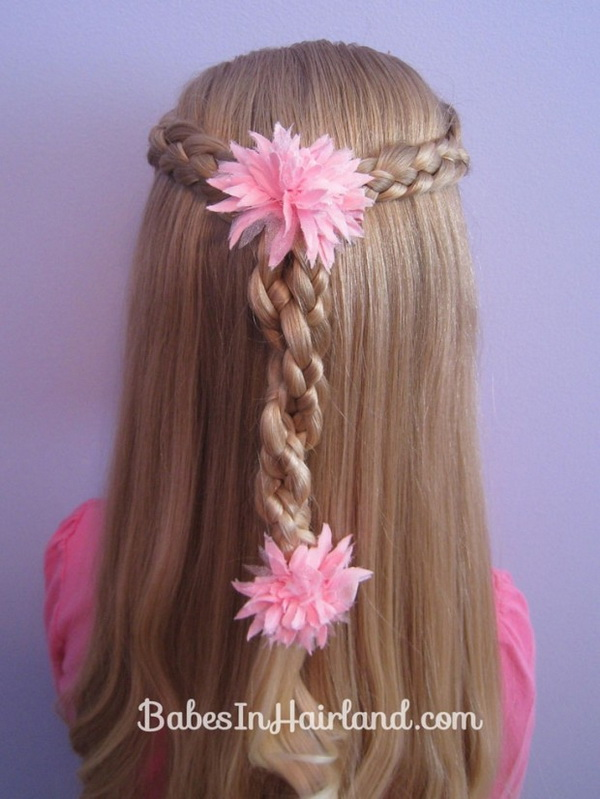 Super 28 Cute Hairstyles For Little Girls Hairstyles Weekly Hairstyle Inspiration Daily Dogsangcom