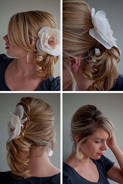 Pleasant Formal Hairdo Twist Amp Pin Side Ponytail Hairstyles Weekly Short Hairstyles For Black Women Fulllsitofus