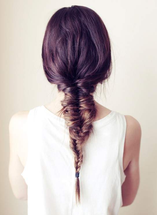 Girls Cute Fishtail Braid Hairstyles – Fun Weekend Hair Styles