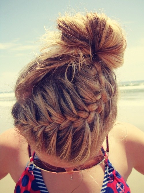 Casual Beach Braid for Summer - Look Hot & Stay Cool - Hairstyles Weekly