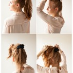 DIY Hairstyles: Braided Fishtail Bun Updo Tutorial