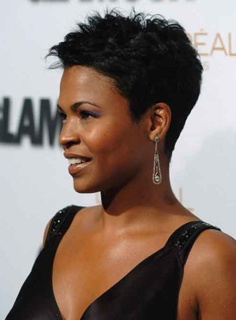 Short Black Haircuts Women 55