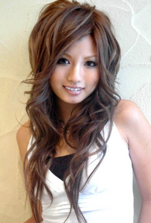 Hairstyles For Long Hair Asian Girl : Asian Hairstyles for Girls: High Volume & Large Waves - Hairstyles ...