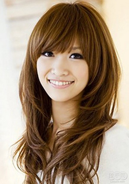 Cute Japanese Hairstyle for Asian Girls