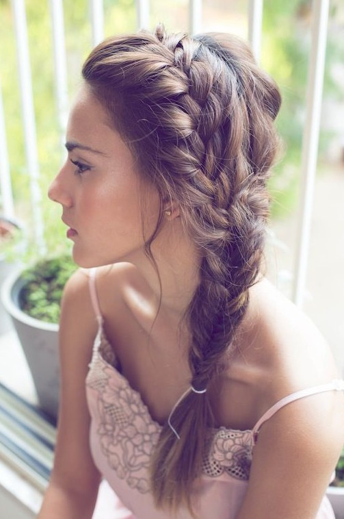 Gorgeous Fishtail Braid for Summer