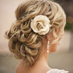Gorgeous Wedding Updo for Long Hair 2014