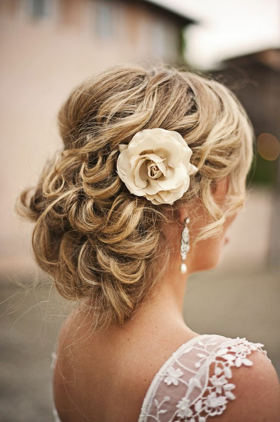 Picture of Gorgeous Wedding Updo for Long Hair 2014 /pinterest