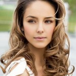 Hair HighLights Ideas - fancy wavy hairstyles