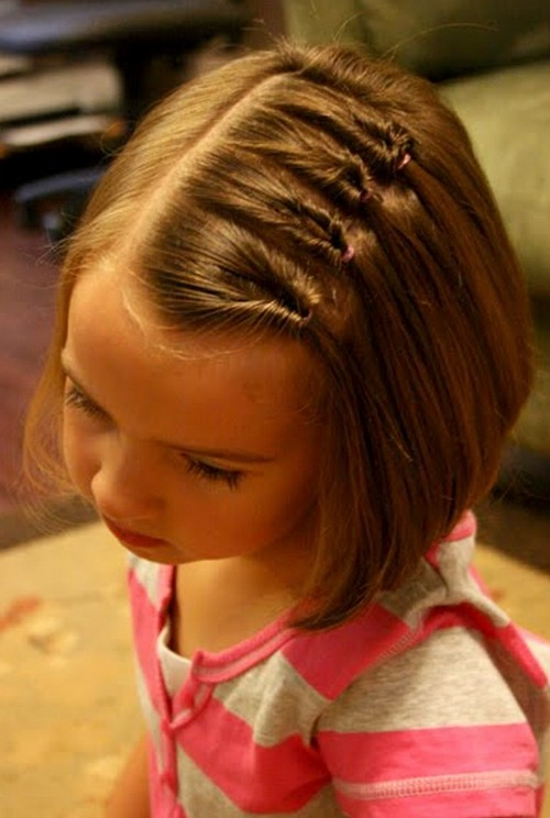 Cute Hairstyles For Girls Hairstyles Weekly - Hairstyle small girl