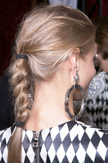 Messy Casual Braid for Women