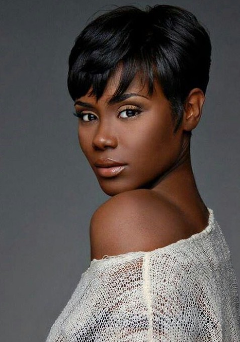 Short black hairstyle with bangs hairstyles weekly short black hairstyle with bangs urmus Choice Image