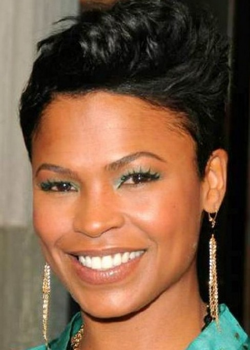 Spiked Short Black Hairstyle  Hairstyles Weekly