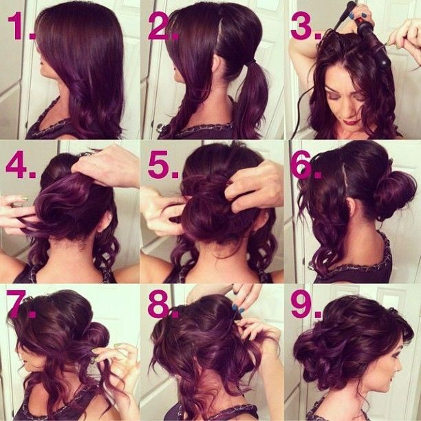 Wondrous 18 Cute Easy Hair Tutorials Amp Diy Hairstyles Shouldn39T Miss Hairstyle Inspiration Daily Dogsangcom