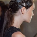 Sweet Braided Low Ponytail for Women