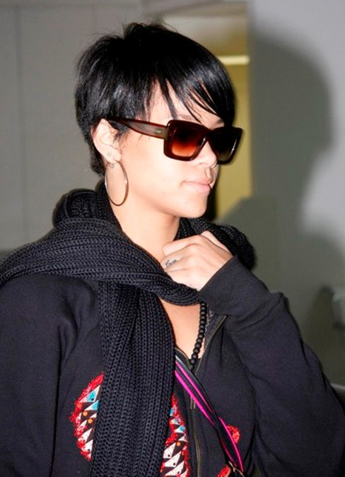 Trendy Short Black Hairstyle 2014