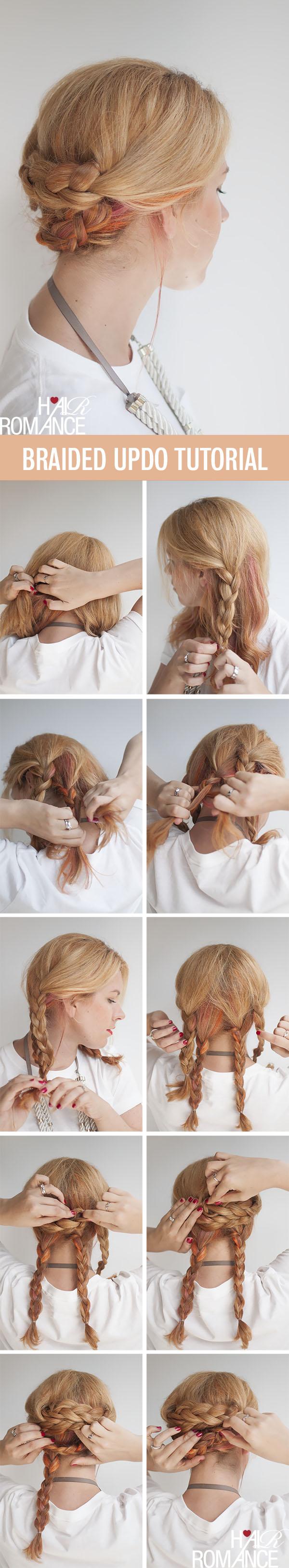 Sensational Braid Hair Tutorial Simple Easy Braided Updo Hair Hairstyles Weekly Short Hairstyles For Black Women Fulllsitofus