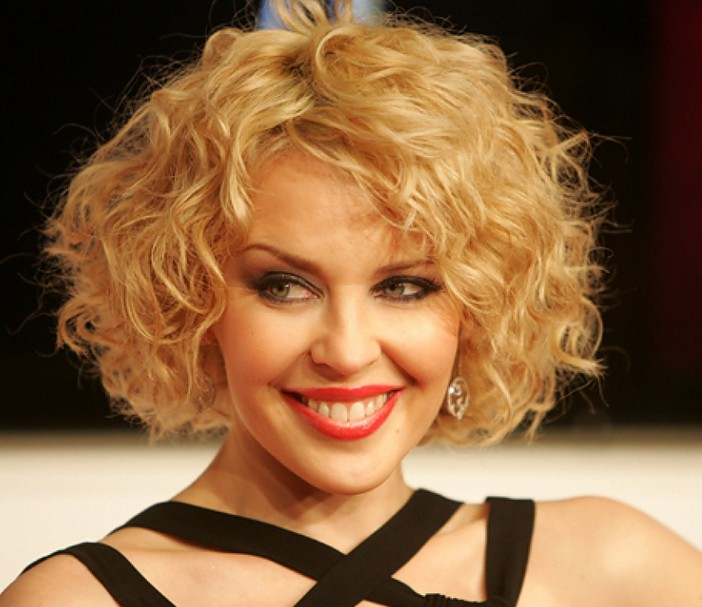 Daily Hairstyles For Medium Hair: Curly Bob!