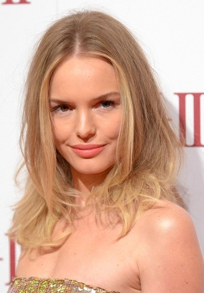 Kate Bosworth Medium Wavy Hairstyle for Round Face Shape