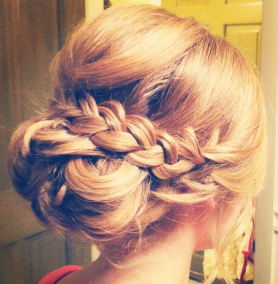 Best updo for prom!