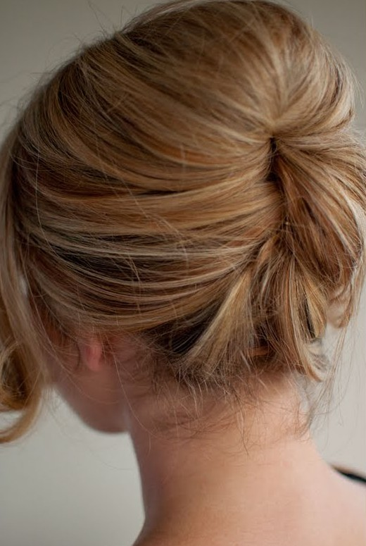 Beautiful Relaxed Beehive Updo Easy Beehive Hairstyle