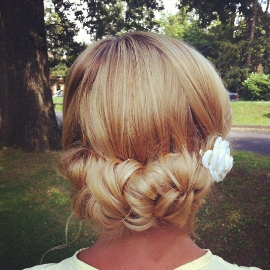 Best Chignon Updo for Bride
