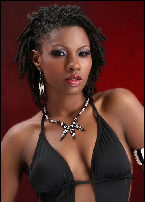 Cool Short Black Haircut for Black Women