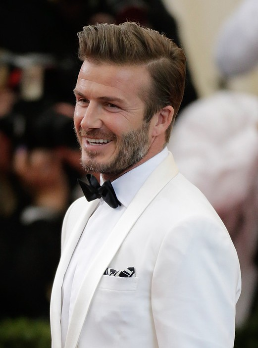 David Beckham Haircut Hairstyles 2014