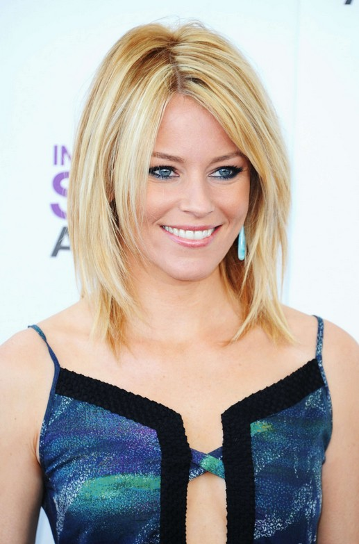 Elizabeth Banks Medium Layered Haircut