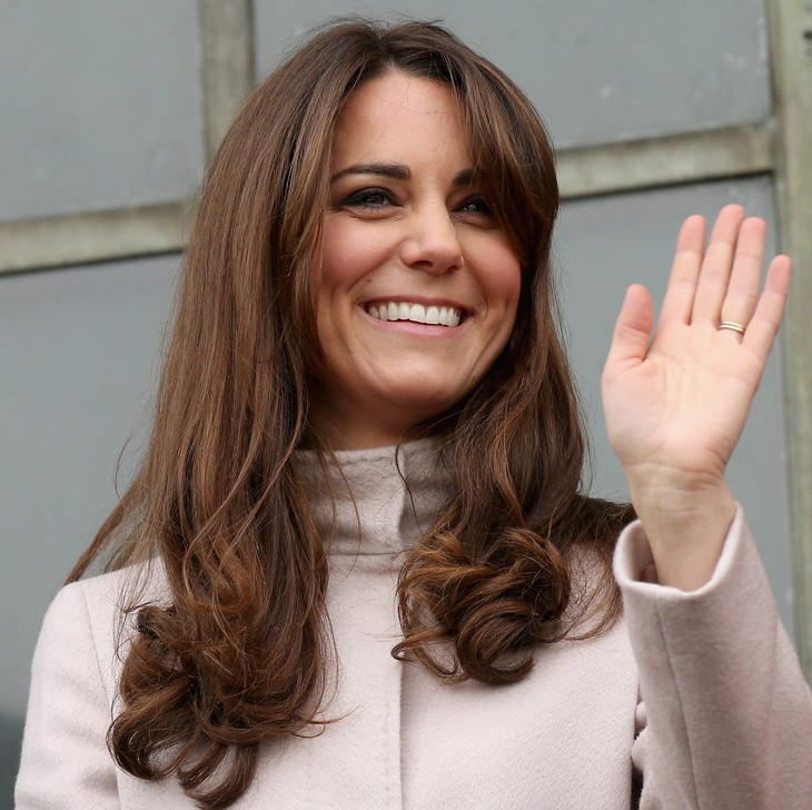 Tremendous Kate Middleton39S Long Hairstyle With Curls Daily Hairstyle Ideas Short Hairstyles Gunalazisus