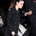 Rachel Bilson Loose and Textured Ponytail