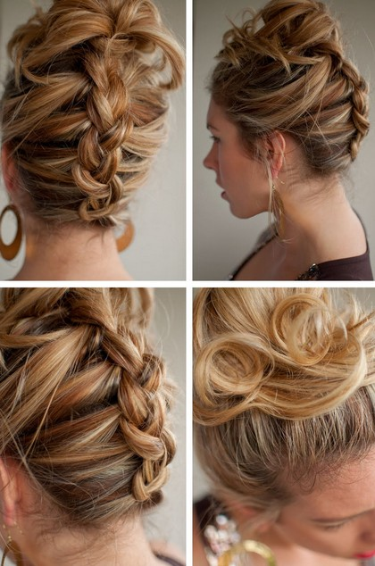 Reverse French Braid U2013 Best Summer Hairstyle For Long Hair