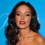 Selita Ebanks Long Black Curly Hairstyle