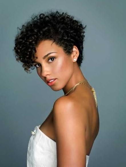 Short Black Haircuts Women 30