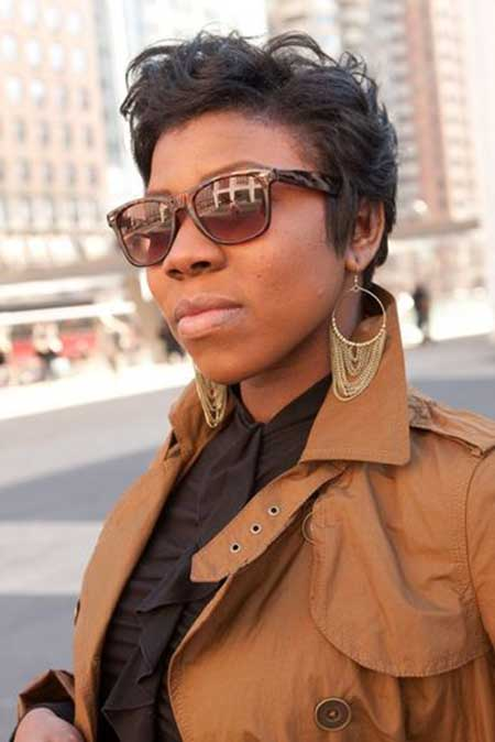 Stylish Short Haircuts for Black Women